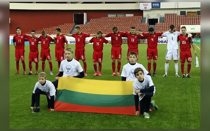 Lietuvos 18-mečių futbolo rinktinė (granatkin.com nuotr.)