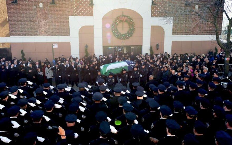 Policininkų laidotuvės Niujorke