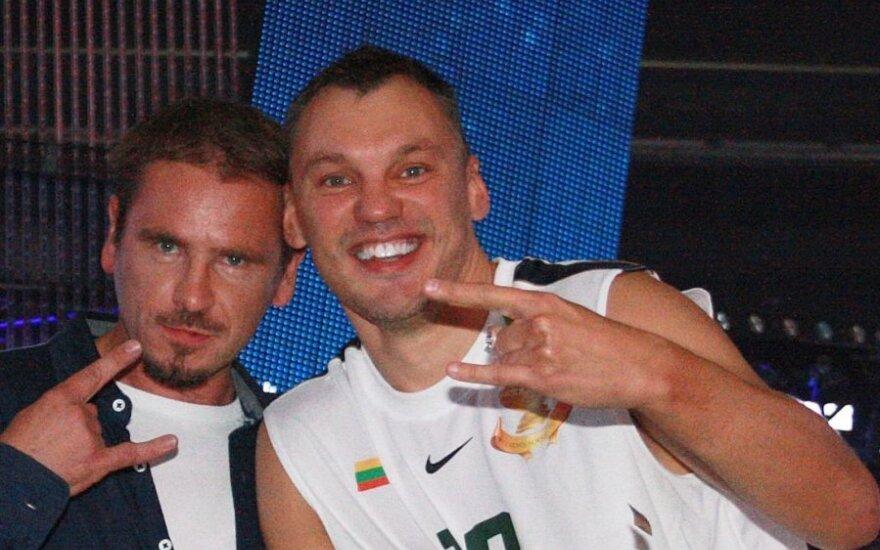 Marijonas Mikutavičius ir Šarūnas Jasikevičiusa