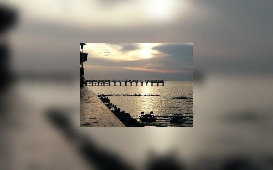 Šalia Palangos tilto norima statyti daugiaaukščius pastatus