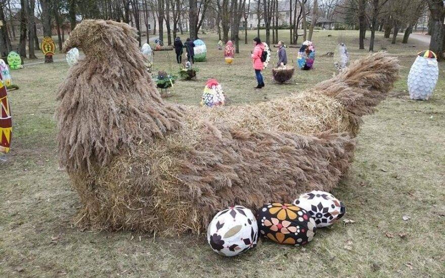 Lietuvoje pradėjo veikti velykinių margučių parkas