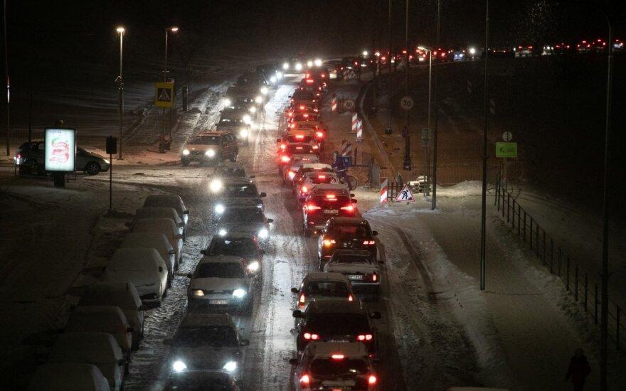 Paskutinę metų dieną viešasis transportas Vilniuje kursuos pagal šeštadienio tvarkaraštį