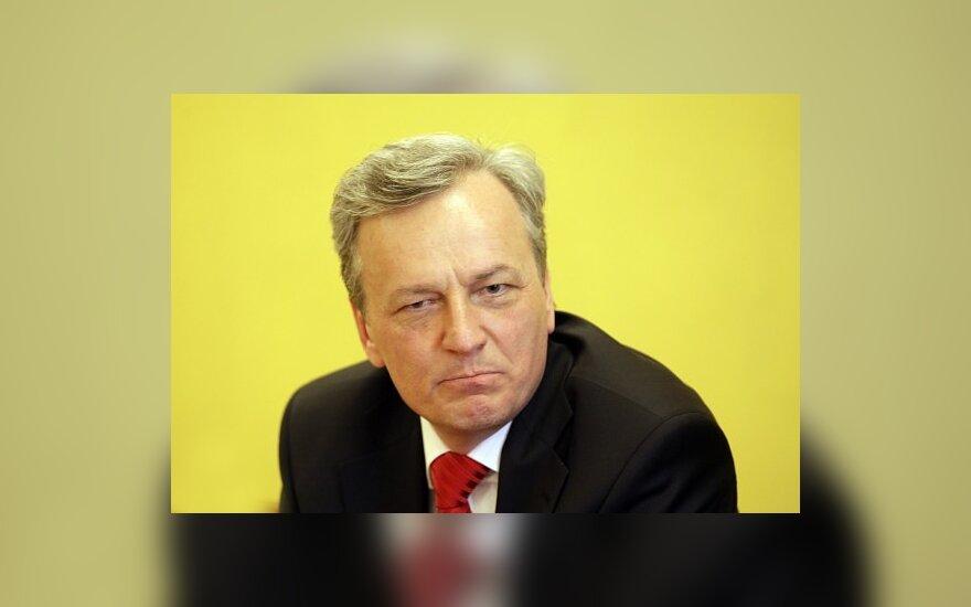 S.Stoma: A.Valinskas kvailioja bijodamas prarasti postus