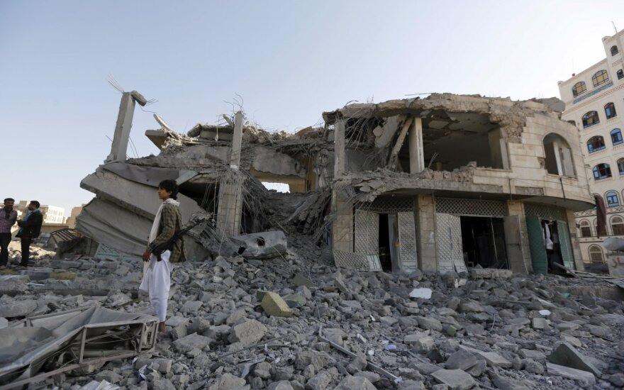 Saudo Arabijos aviacijos smūgis Jemene pareikalavo 19 aukų