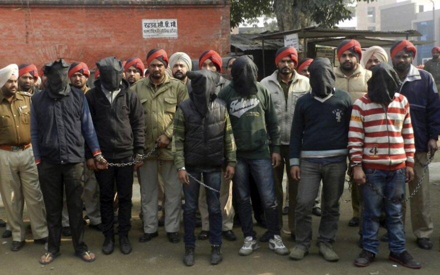 Indės išprievartavimu kaltinami vyrai