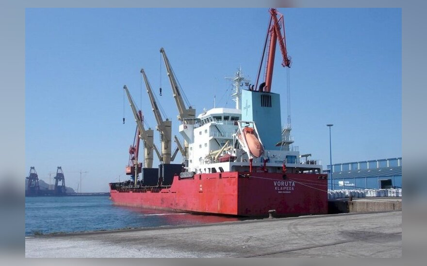 Situation on board of Lithuanian LJL's ships stuck abroad getting worse