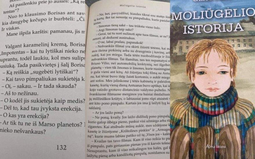 """N-14? Pasvarstymai apie Gilles'io Paris """"Moliūgėlio istoriją"""""""
