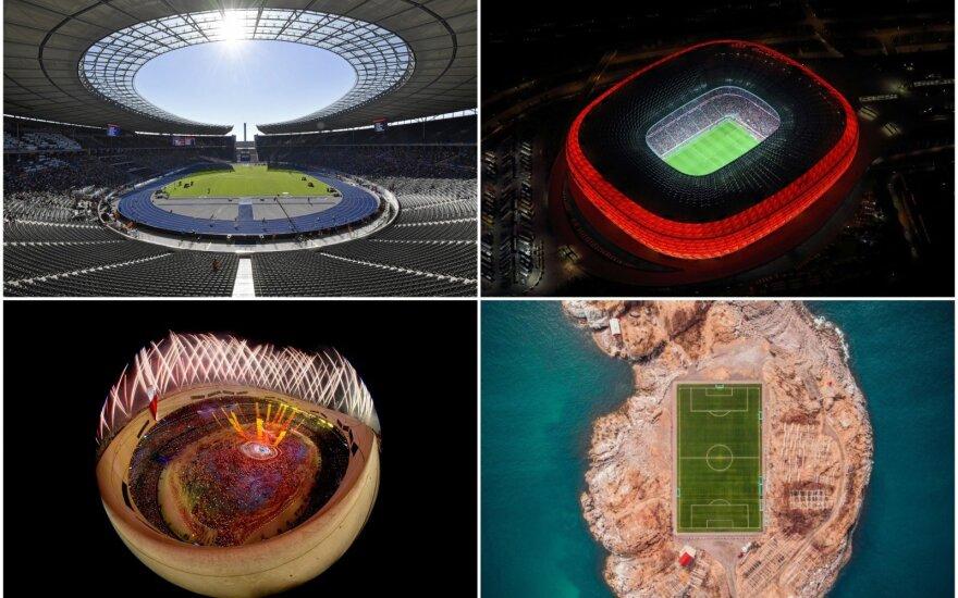 Gražiausi pasaulio stadionai