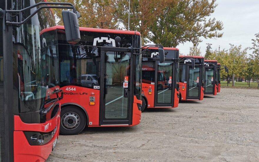 Vilniuje planuojami aštuoni nauji autobusų maršrutai į priemiesčius