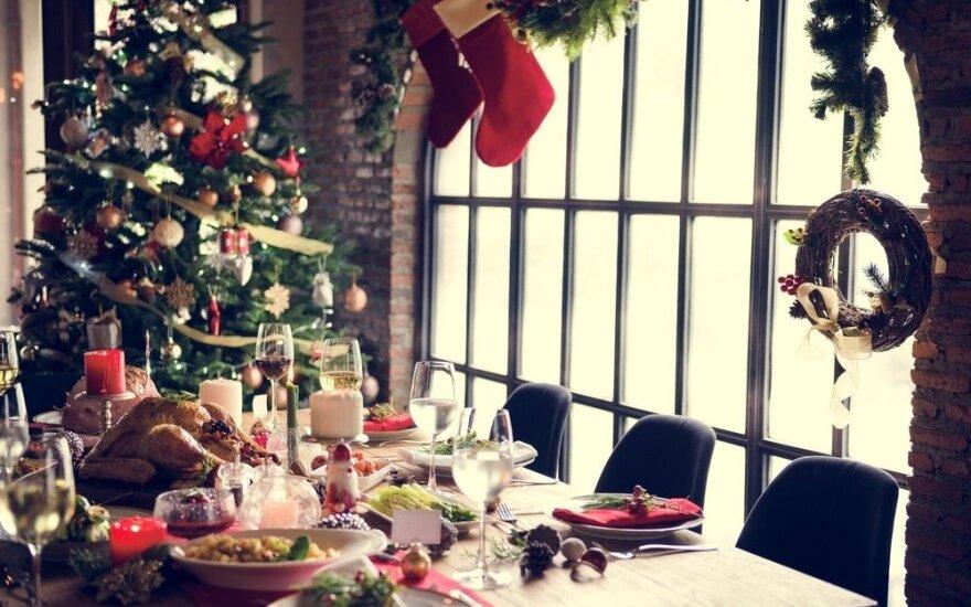 Ant stalo per šventes lietuviai drąsiai krauna ir austres, ir zelandišką jautieną