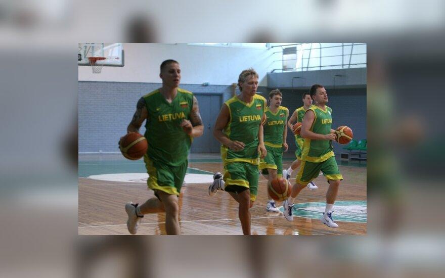 Lietuvos rezervinės komandos krepšininkai