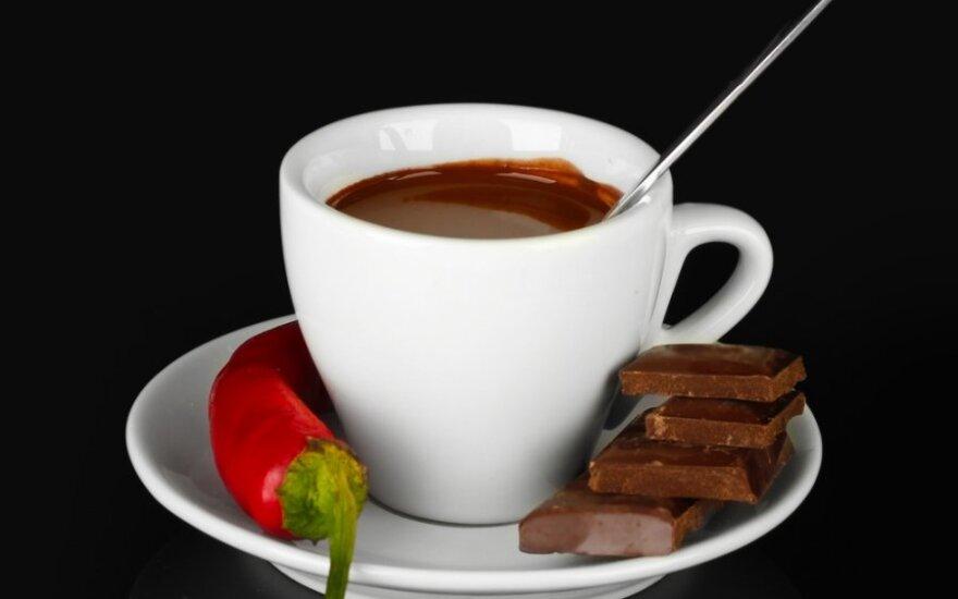 Karštas meksikietiškas šokoladas