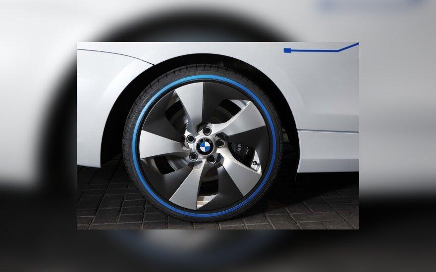 "BMW 2013 m. pristatys elektromobilį ""Megacity"""