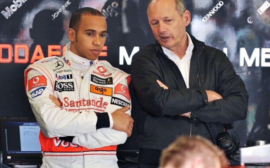 Lewisas Hamiltonas ir Ronas Dennisas