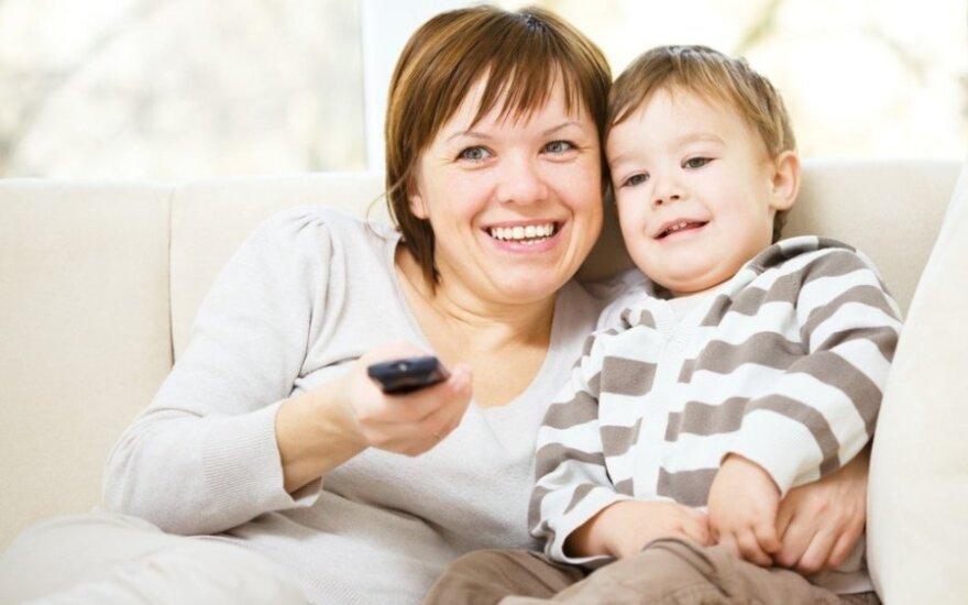 Įrodė: televizija kenkia vaikų ir paauglių smegenims
