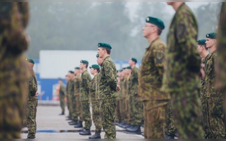 Half of conscripts want to stay in Lithuanian army