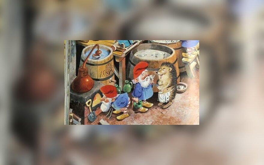 """Leidykla: knyga vaikams su alkoholio """"kvapeliu"""" – italų darbas"""