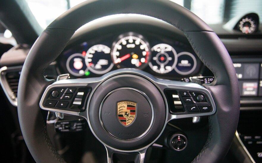 Naujojo Porsche Panamera pristatymas