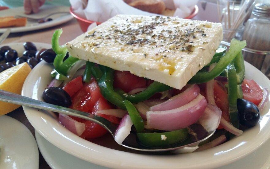 Tikros graikiškos salotos