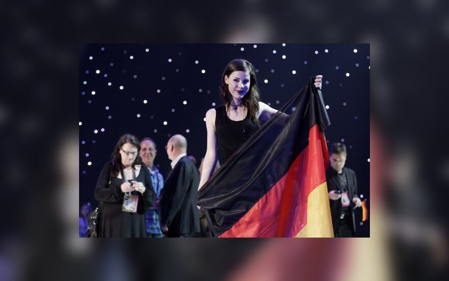 """""""Eurovizijos"""" nugalėtoja vokietė Lena"""