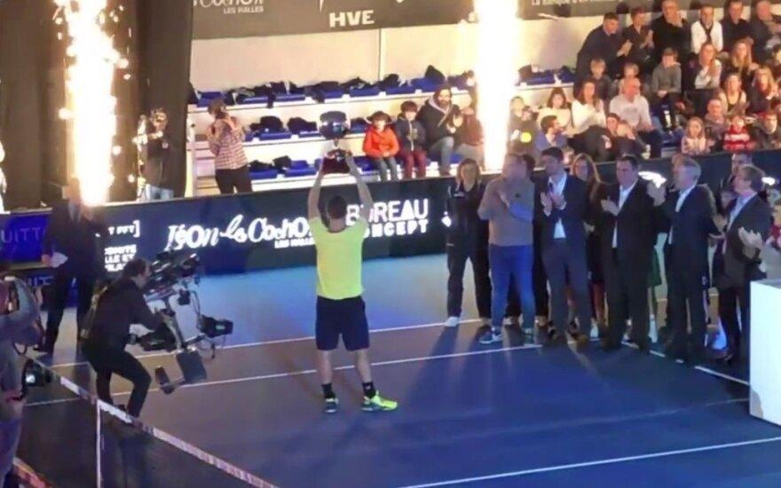It per prancūzišką sviestą: turnyre Rene – Berankio triumfas