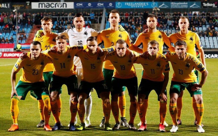 Euro 2020 atranka: Liuksemburgas - Lietuva