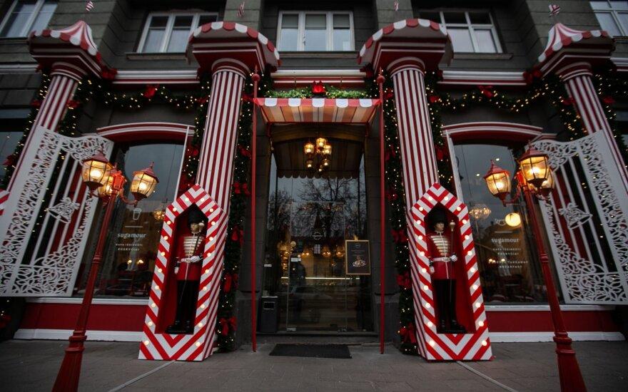 Sostinės restoranas tęsia tradiciją: pasipuošė išskirtinėmis Kalėdų dekoracijomis