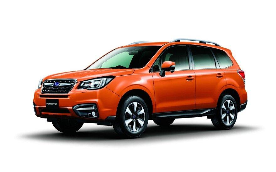"""""""Subaru Forester"""" atnaujinimai"""