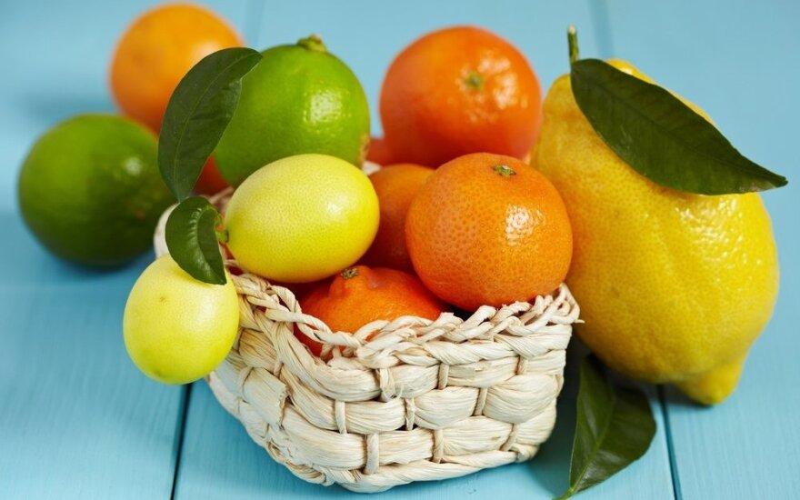 Kokie vaisiai naudingiausi žiemą ir kodėl