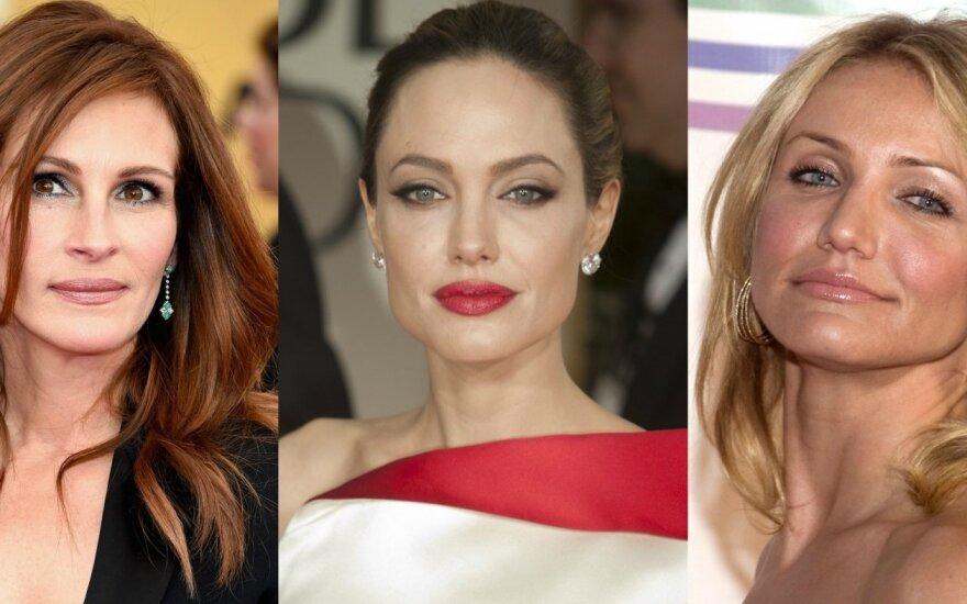 Julia Roberts, Angelina Jolie, Cameron Diaz