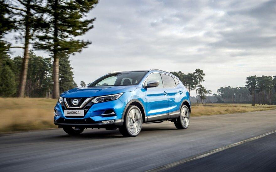 """Sėkmingiausias """"Nissan"""" modelis """"Qashqai"""". Šiemet pasirodys jo modernizuota versija"""