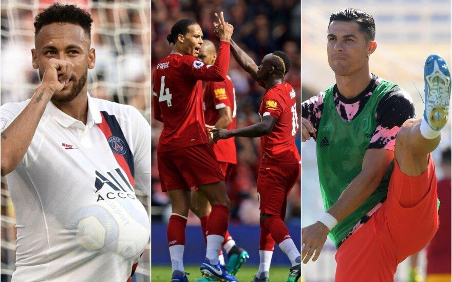 "Cristiano Ronaldo,""Liverpool"" žaidėjai, Cristiano Ronaldo / Foto: AFP-Scanpix, AP-Scanpix"