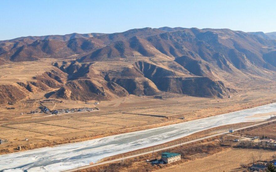 Tumanajos upė Šiaurės Korėjoje