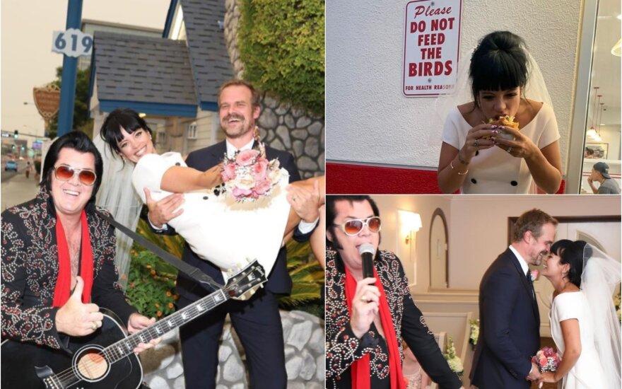 Lily Allen vestuvės