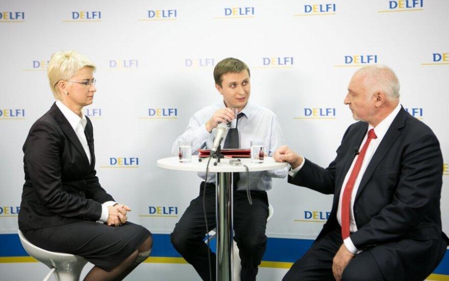 N.Venckienė koalicijų neįsivaizduoja su TS-LKD, socdemais, liberalais ir DP, V.Mazuronis – su dabartiniais valdančiaisiais (balsavimas)