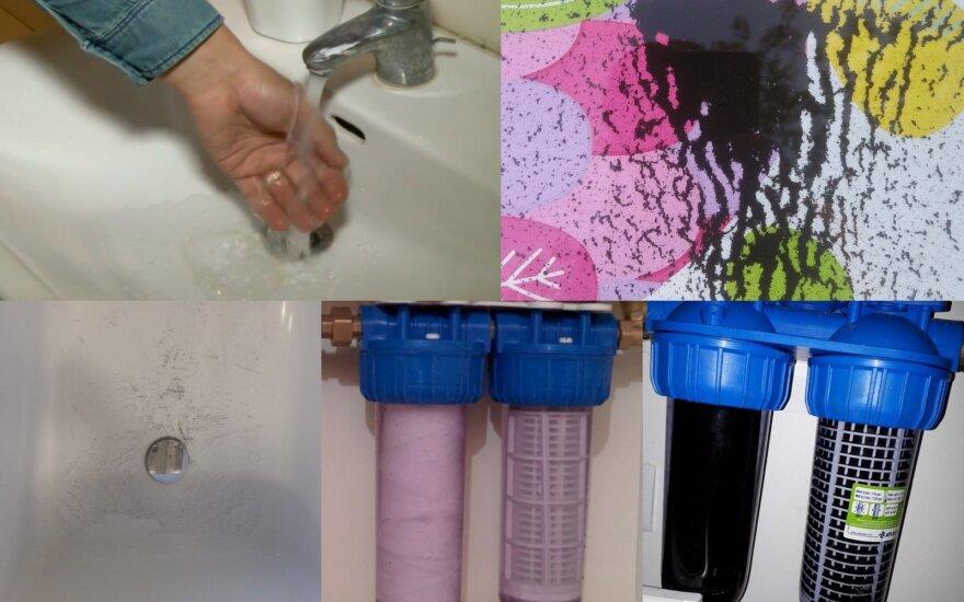 Kaunietis priblokštas vandens kokybės: kodėl privalau už tai mokėti?