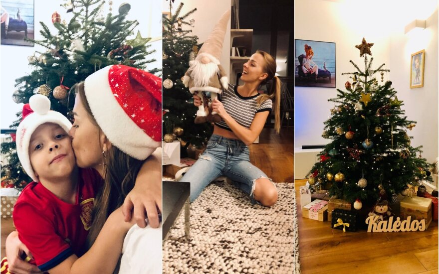 Vaida Skaisgirė atvėrė Kalėdomis alsuojančių namų duris