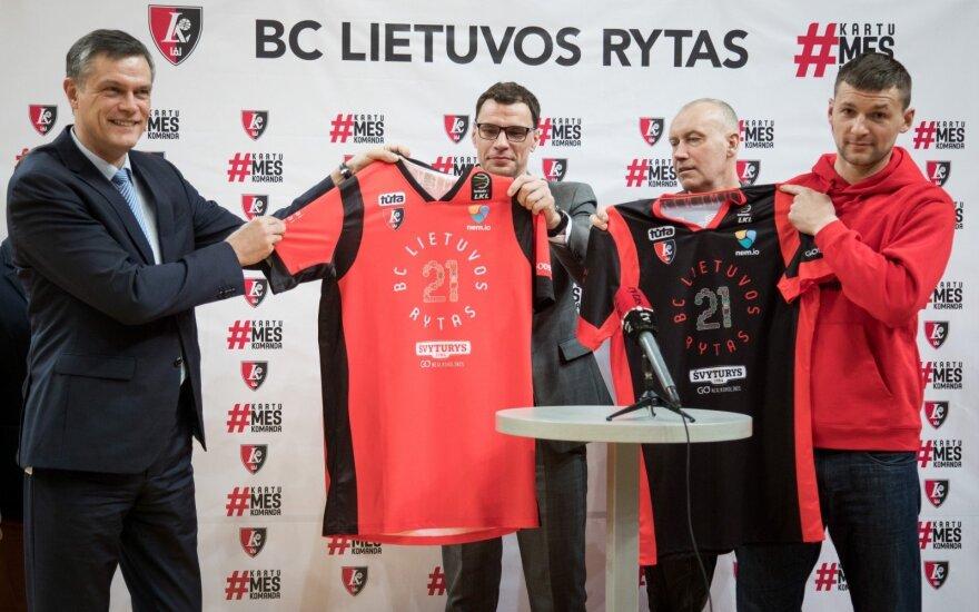 """""""Lietuvos ryto"""" komanda Karaliaus Mindaugo turnyre vilkės išskirtinio dizaino aprangas"""