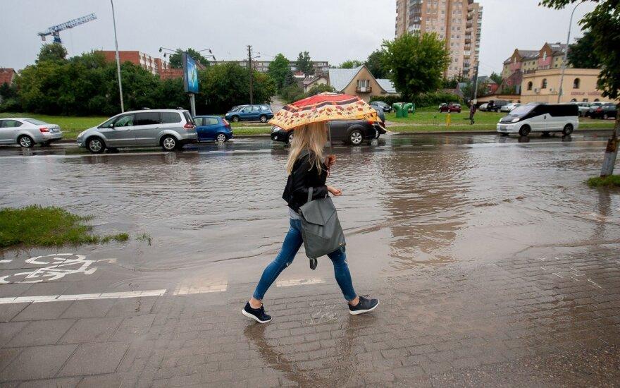 Orai: sinoptikai vėl prognozuoja lietų