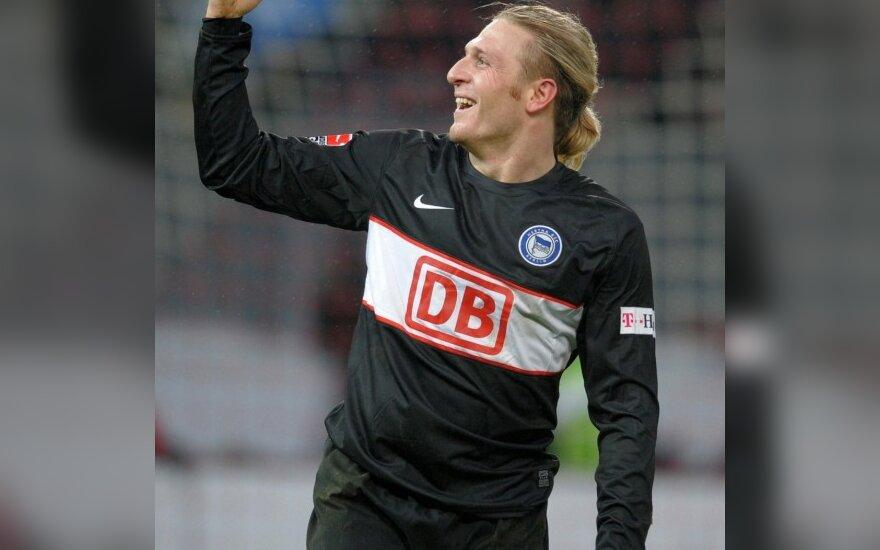 """Andrejus Voroninas (""""Hertha"""")"""