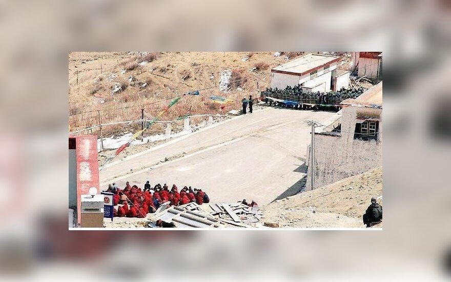 Tibetą supurtė stiprus žemės drebėjimas