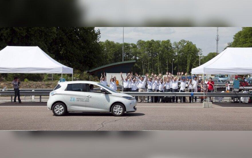 Renault Zoe pagerino Gineso rekordą
