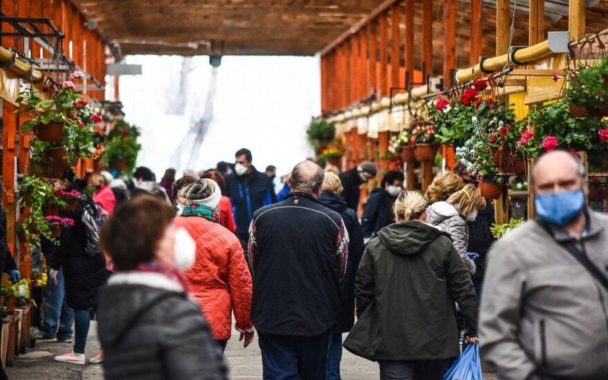 VMI: 5,7 tūkst. turgavietės prekiautojų skirta 1,7 mln. eurų kompensacijų