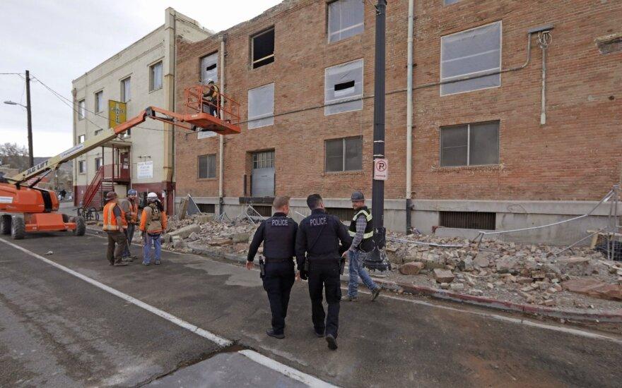 Jutoje įvyko apystipris žemės drebėjimas