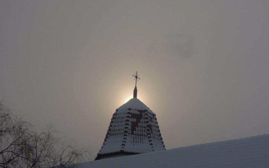 Skaitytoja nuotraukose užfiksavo žiemos rytą Kaune