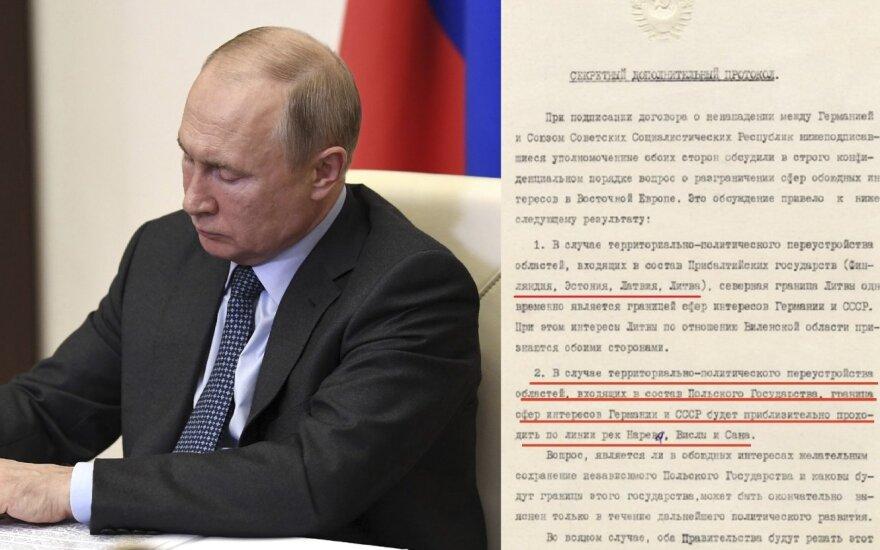 Putinas pasisakė apie Baltijos šalis: vienu sakiniu išdavė tikrąjį Kremliaus planą