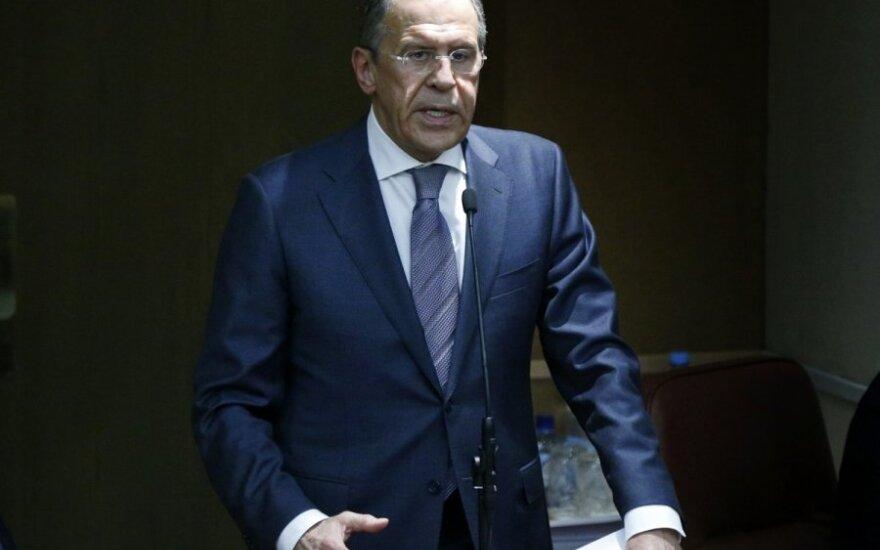 Rusija dėl Ukrainos krizės užsipuolė NATO