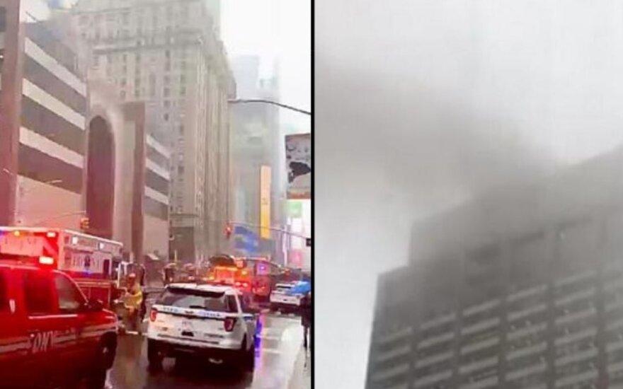 Sraigtasparnio avarija Niujorke