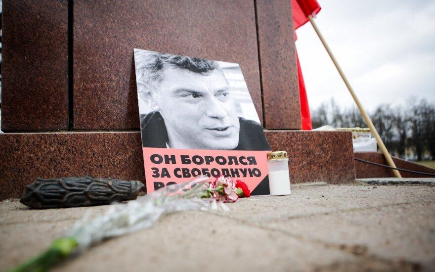 Neleista paminėti B. Nemcovo atminimo