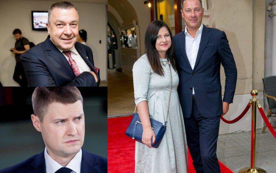 Antanas Matulas, Mykolas Majauskas, Agnė ir Artūras Zuokai